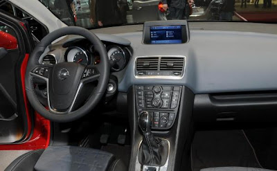 Opel Meriva With Flex Doors interior