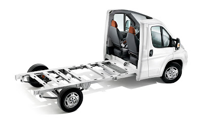 Fiat Ducato chassis.