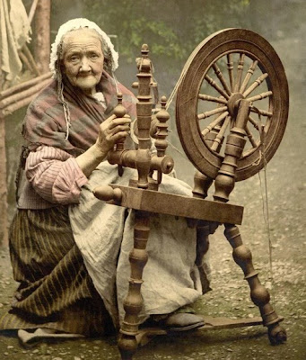 Spinning wheel - a device to
