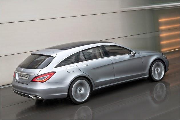 Premiere In Beijing Mercedes Concept Shooting Break