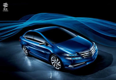 Honda City China