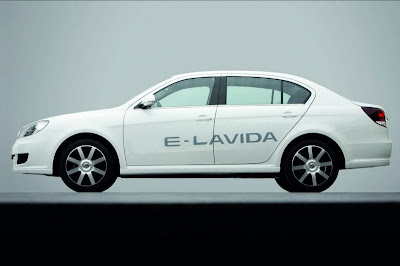 Volkswagen introduced the electric trolley E-Lavida