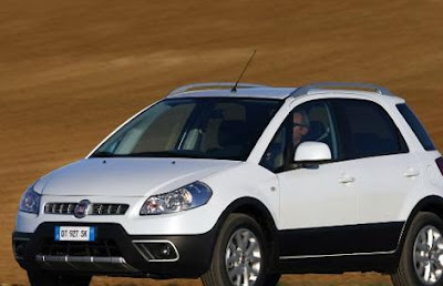 new fiat sedici 2009
