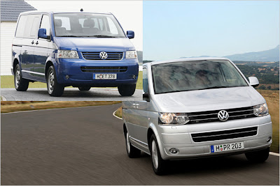 2010 VW Transporter Facelift details