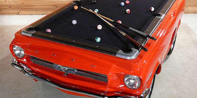 pool table mustang