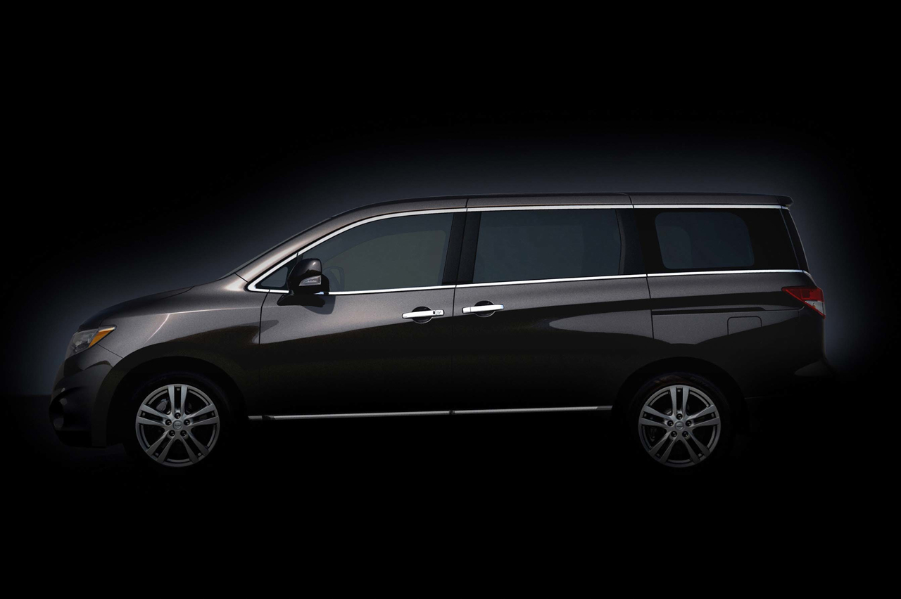 2011 Nissan Quest First Teasers Revealed - Photos