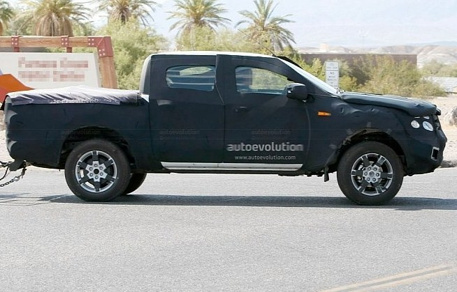 Free Car Wallpapers  Spied  2012 Model new Ford Ranger spyshots