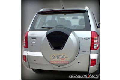 2011 2012 New Chery Tiggo coming - interior and exterior spy pictures