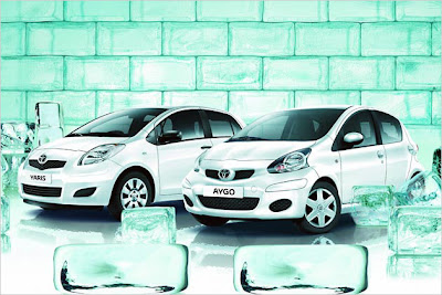 Toyota Aygo and Yaris Cool Cool: special models with three-cylinder