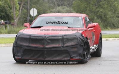 2011 model Chevrolet Camaro Z28