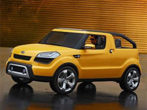 kia soul pick up