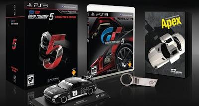 Gran Turismo 5: Collector's Edition in the U.S.