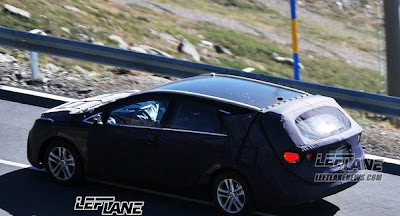Spy photos : Universal Hyundai Sonata 2012