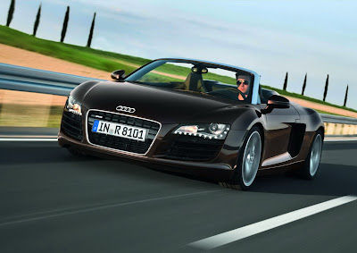 Audi R8 Spyder now with 4.2 FSI engine