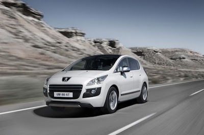 Peugeot 3008 HYbrid4: The world's first crossover with a hybrid diesel engine