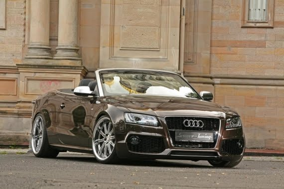 Audi A5 convertible is an idea with more sexy car
