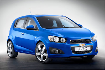 Aggressive: Chevrolet launches new Aveo
