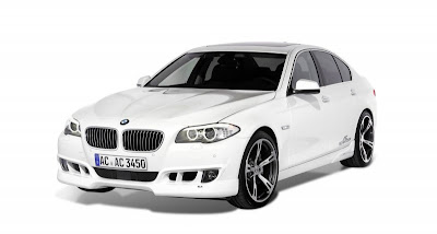 BMW 530d in the performance of AC Schnitzer photos