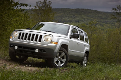 More adventurer 2011 model Jeep Patriot  Effectively retouched