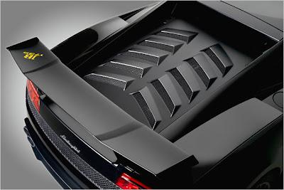 Lamborghini Gallardo LP570-4 Blancpain Edition matte black series