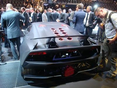 Lamborghini Sesto Elemento: the 1st live photos