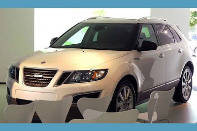 2011 Saab 9-4X : first official pictures of the SUV