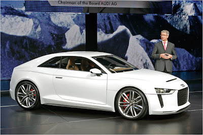 2011 Audi quattro concept first live photos