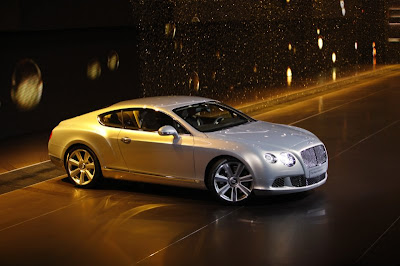 2011 Bentley Continental GT appeared in all its glory Paris 2010 Live