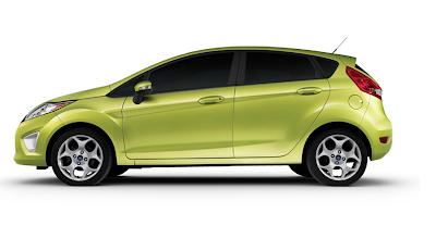 2011 New Ford Fiesta Kinetic Design