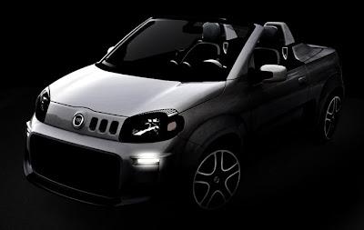 A Fiat Nova Uno Uno Cabrio e Roadster Concept Convertible Sporting