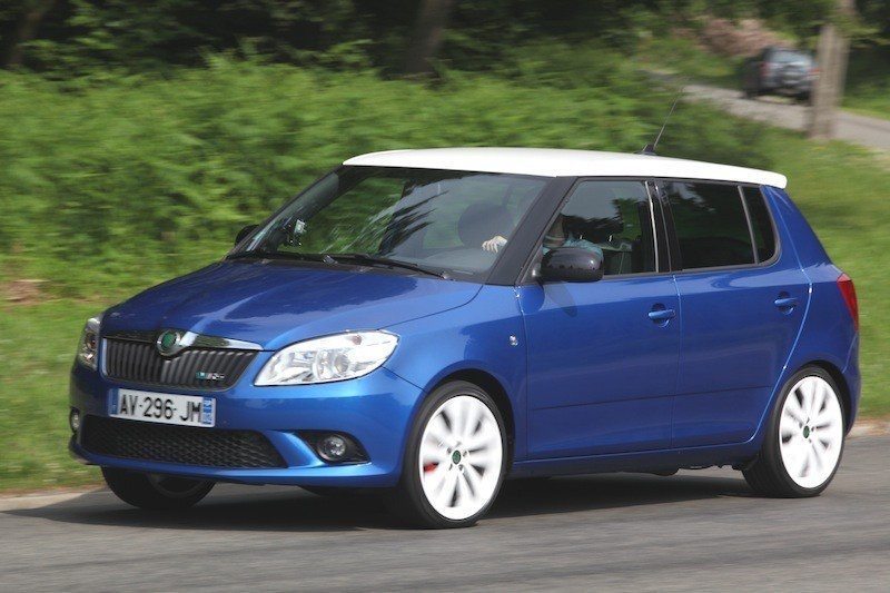 Skoda fabia rs highlighted with a new video wild unless it is beastly