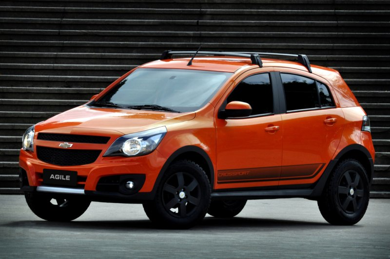 Car news car reviews chevrolet showed a compact crossover agile cross sport