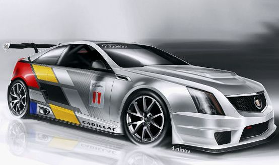 Cadillac CTS-V Race Car Best Pic