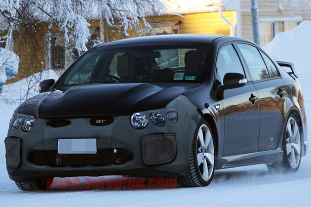 Ford Fpv Falcon Is Testing The Gt H 2012 2013 Spy Shots