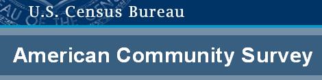 American Community Survey ACS  Department of Finance