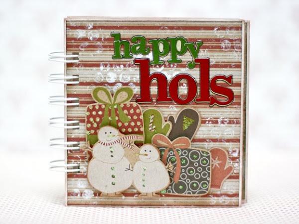 Happy Holidays Mini Album + Goodies