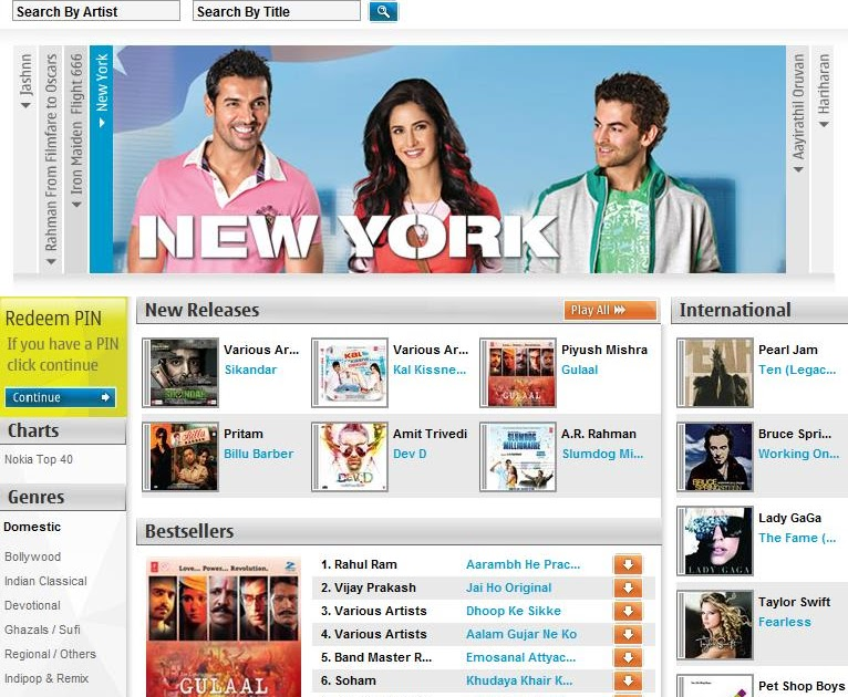 Nokia launched its Music Store in India ~ All about Apple, Google ...
