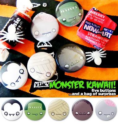 El mundo kawaii Halloweenbutton2008_image
