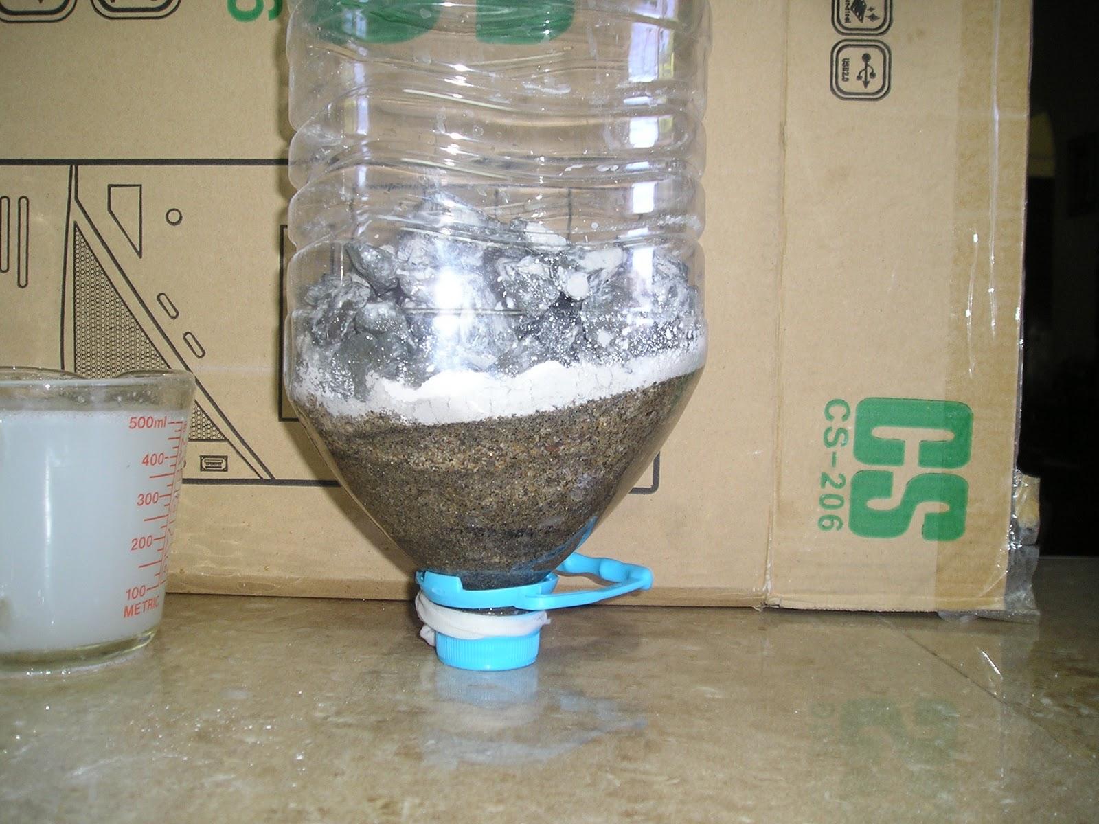 Reciclar el agua filtracion de aguas grisis con cal - Quitar cal del agua ...