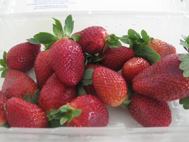 fruit strawberries
