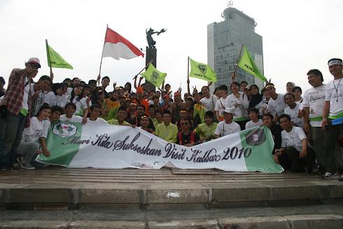 Aksi Promosi Pariwisata Kalbar Di HI Jakarta