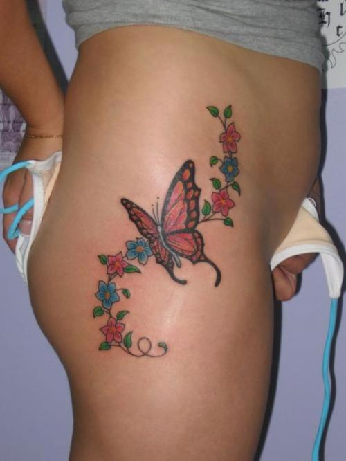 picture of butterfly tattoo. utterfly tattoo design 2011