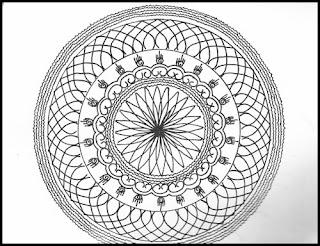SANSKAR rangoli sketchs