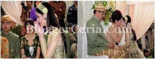 Acara Kawinan Nia Ramadhani& Ardi Bakrie