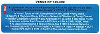 Paket Venus Indovision