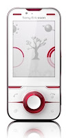 Sony Ericsson Yari Red White