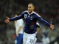 Inggris vs Perancis : 1-2 Highlights