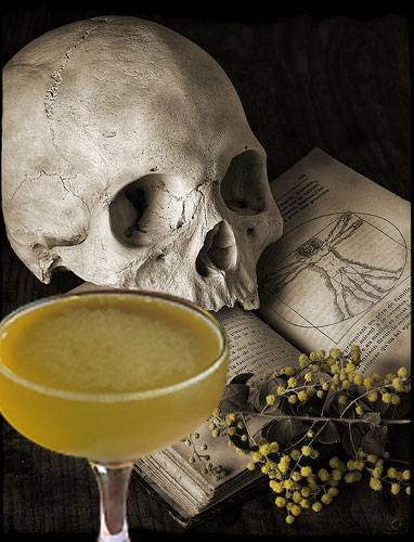 The Real Absinthe Blog: Halloween ... and the Corpse Reviver No. 2