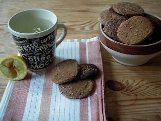 Gingersnaps Biscuit Sablé