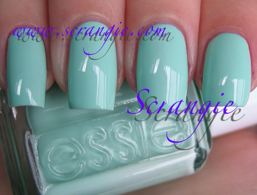 Mint Candy Apple Pastel aqua creme Green Well a little green at least